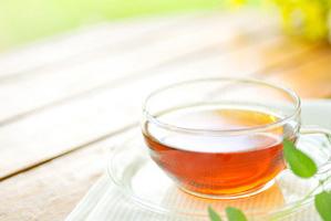 さくらこまち店内のイメージ、お茶の写真